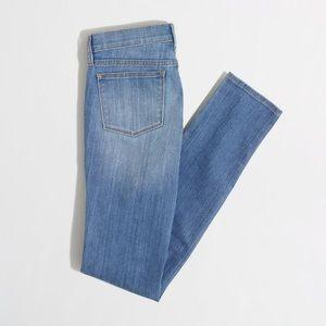 J. Crew Midrise Skinny Jeans in Jess Light Wash